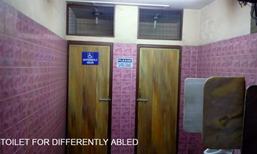 TOILET FOR DIFFERENTLY ABLED